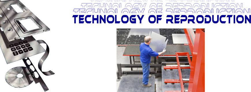 Technology of Reproduction - Man in factory